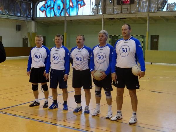 50. Neujahrsturnier Faustball beim ESV Dresden