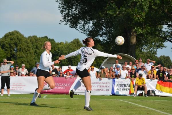 Frauenfaustball WM 2014 in Dresden